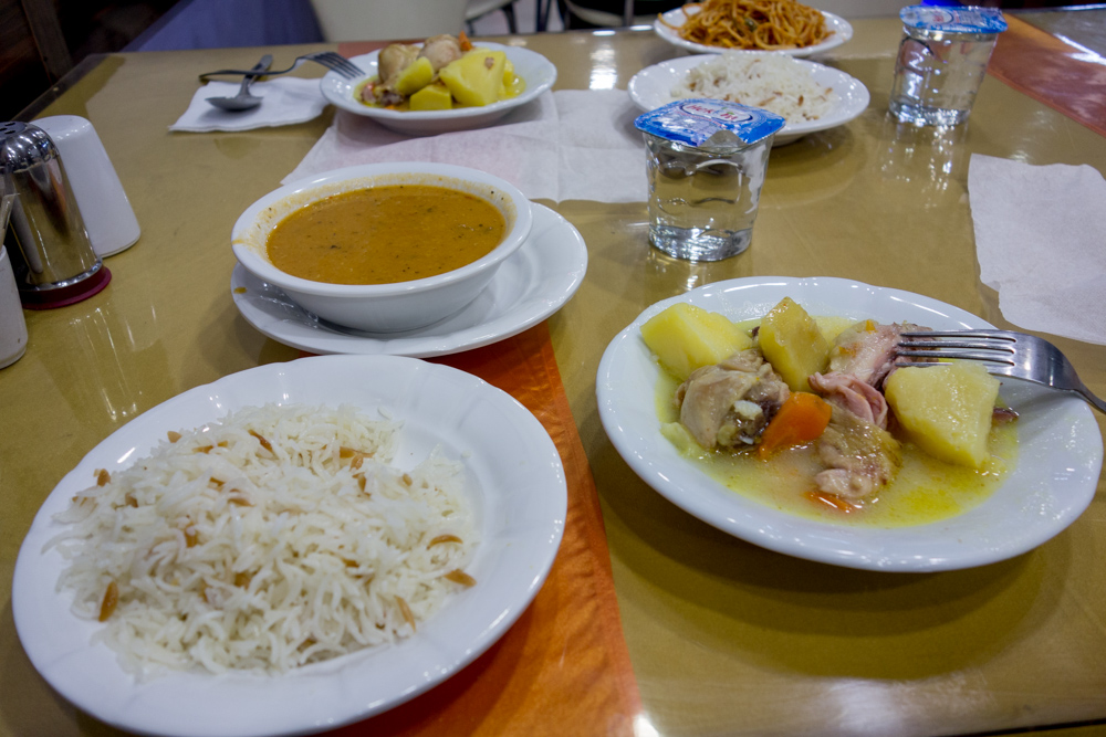 Comida en Turquía