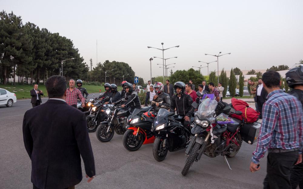 La llegada a Teherán
