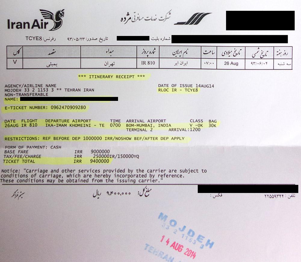 Billetes de avión