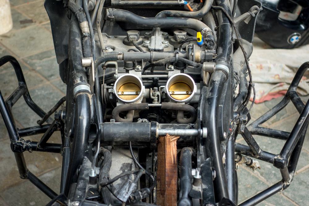Motor de la moto