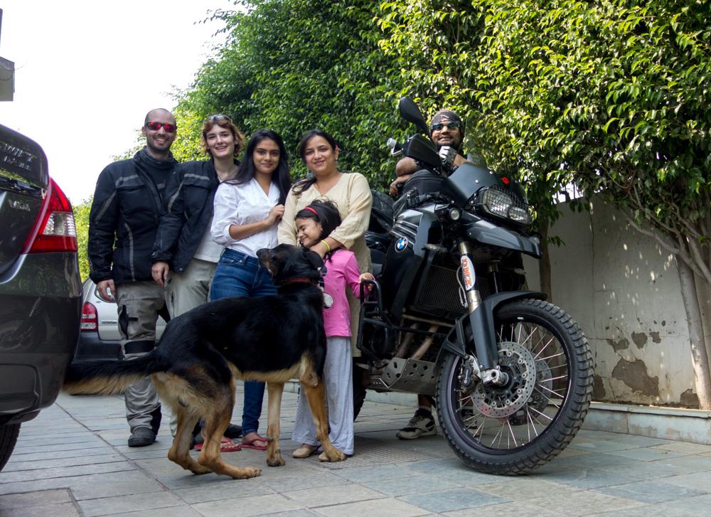 Gurmukh y su familia
