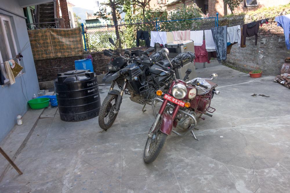 Motos en Nepal