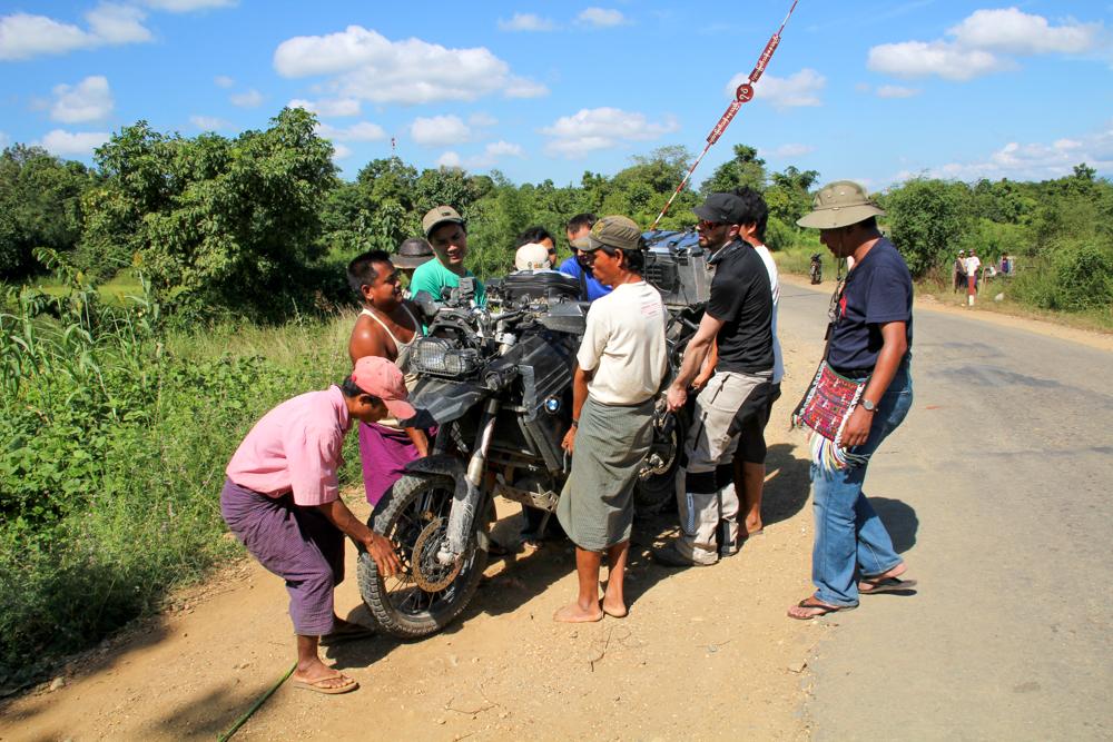 Empieza el caos en Myanmar