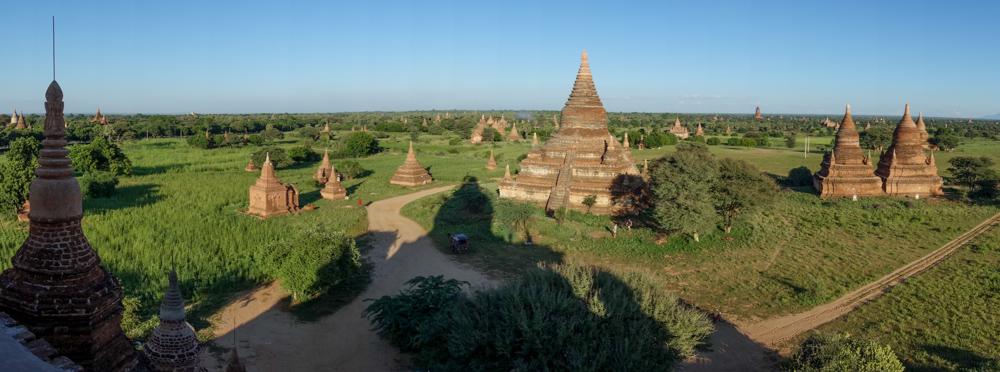 atardecer en Bagan