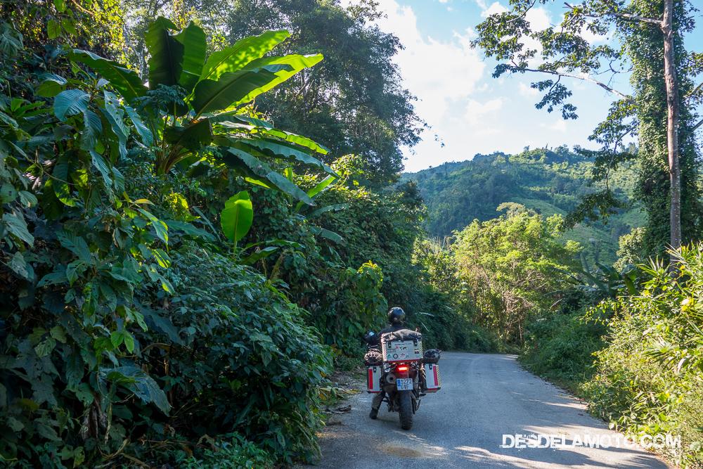 Camino en dirección a Chiang Mai