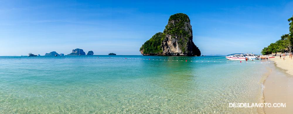 Vacaciones del viaje en Tailandia