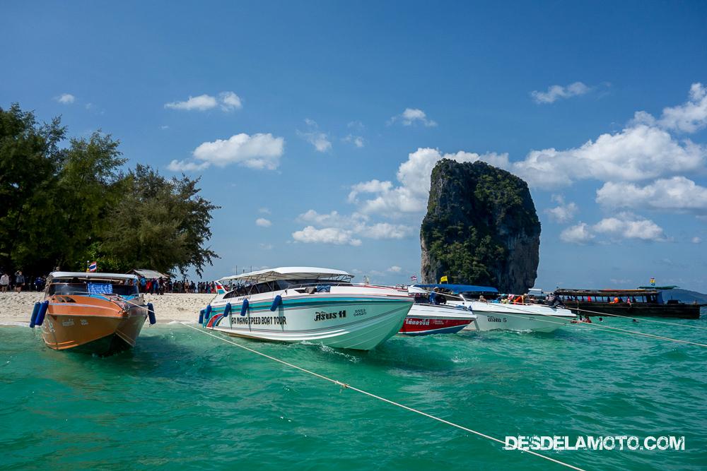 La primera visita a Tailandia