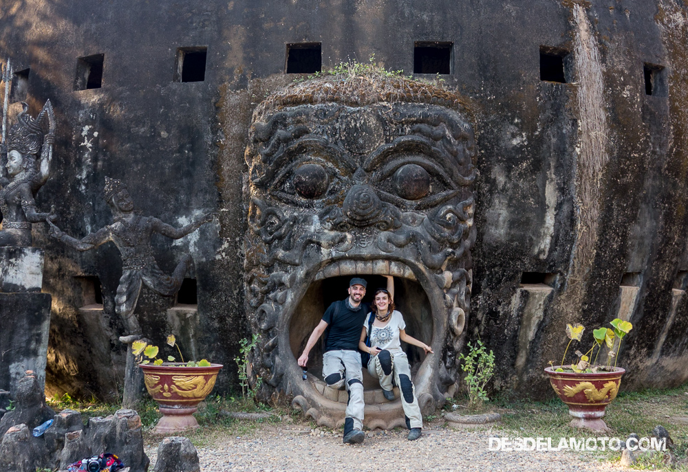 Buddha Park en Vientiane