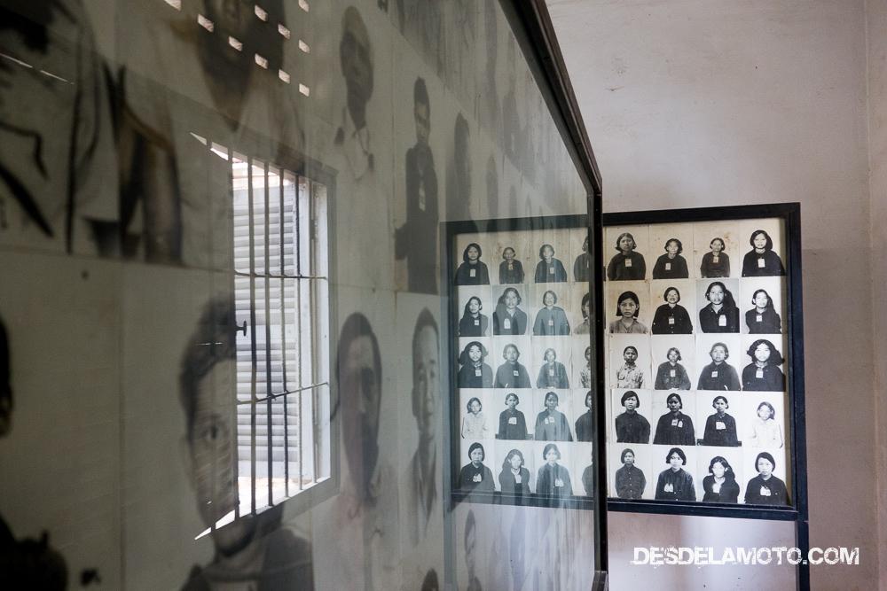 Víctimas del régimen de los Jemeres Rojos.