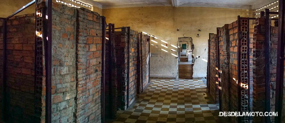 Un colegio convertido en un centro de tortura.