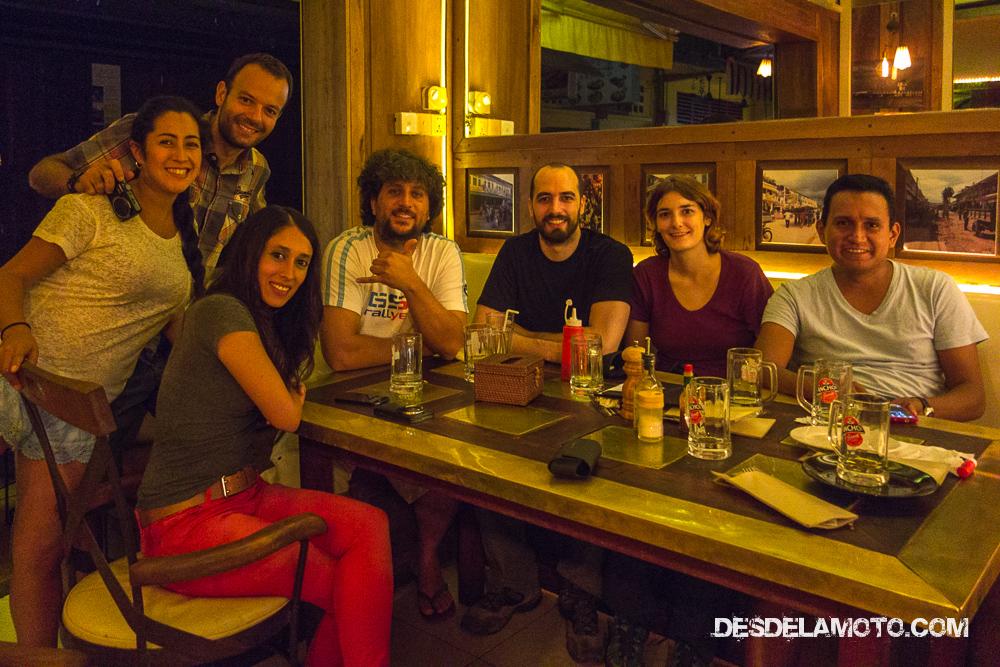 Reencuentro con amigos en Siem Reap