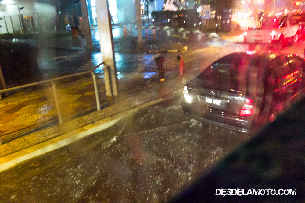 Sigue lloviendo en Kuala Lumpur