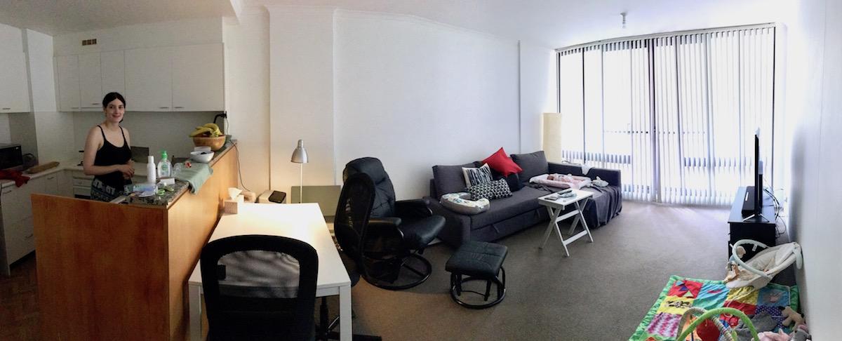 Nuevo piso.