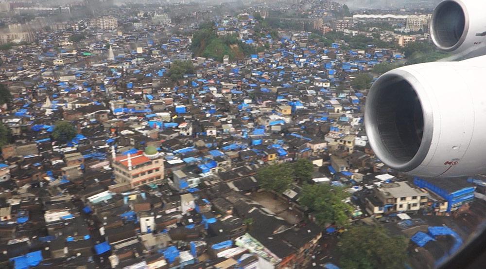Sobrevolando Mumbai