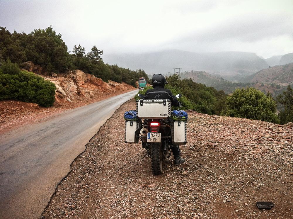 Cruzando el Atlas por la R307