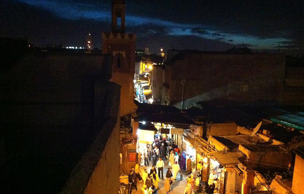 calles de noche