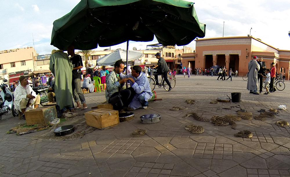 puestos del Gran Bazar