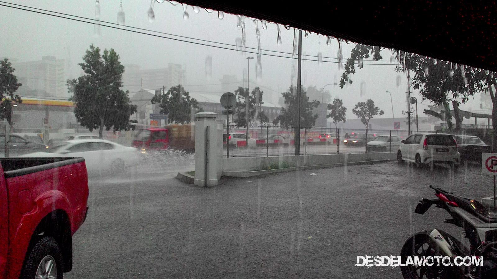 Lluvia en Kuala Lumpur